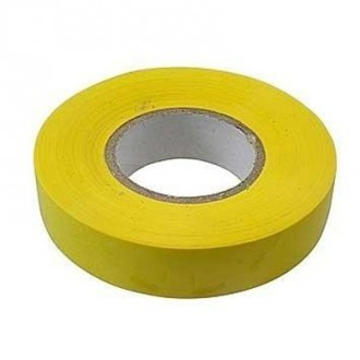 88796 Изолента ПВХ, 19 мм х 20 м, желтая// сибртех, 88796 88796
