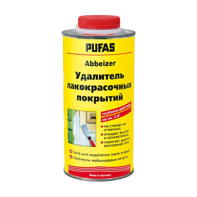 014407 Пуфас n147 удалитель лакокрасочных и дисперсионных красок (0,75кг) abbeizer, 014407 014407
