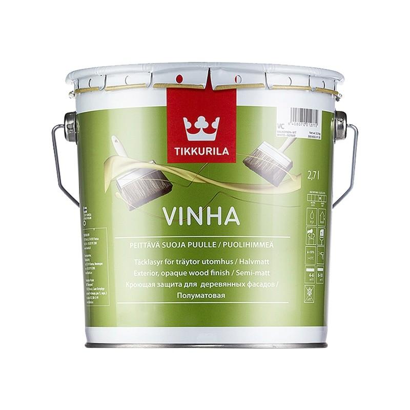 136704 Тиккурила винха vc (vinha) антисептик кроющий п/мат (2,7л), 136704 136704
