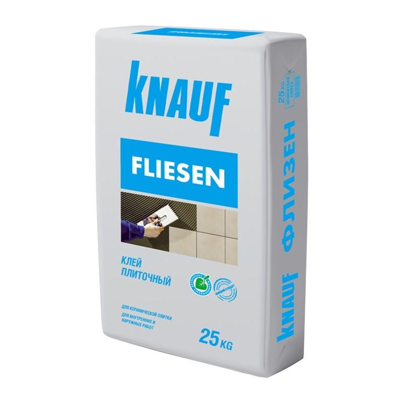 007602 Кнауф флизен (25кг) клей плиточный для внутр/наруж работ, 007602 007602